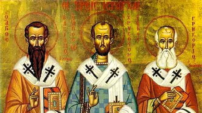Tradiţii şi obieciuri de Sfinţii Trei Ierarhi, pe 30 ianuarie. Ce nu e bine să faci în această zi