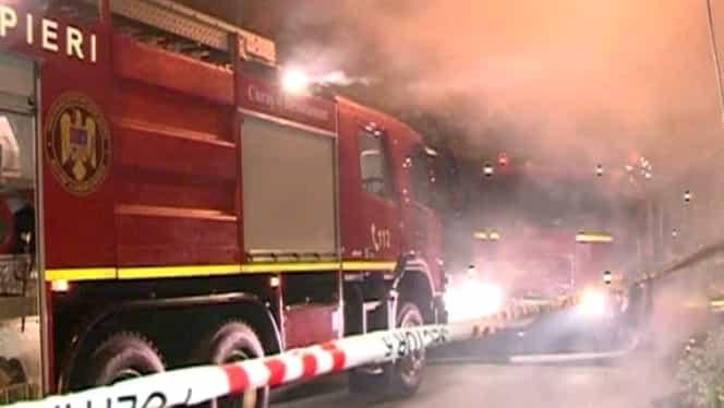 Incendiu la Spitalul Judeţean Alba. Două cadre medicale, grav rănite