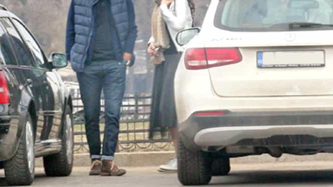 Fosta soție a lui Mădălin Voicu, sărutări în plină stradă! Carmen Olteanu iubește din nou