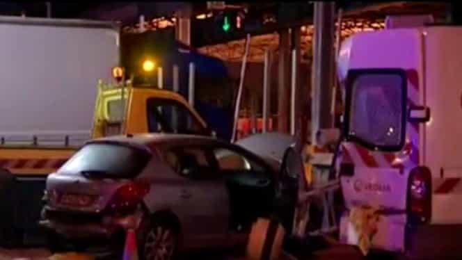 Român acuzat în Franţa că a distrus 109 maşini şi rulote!
