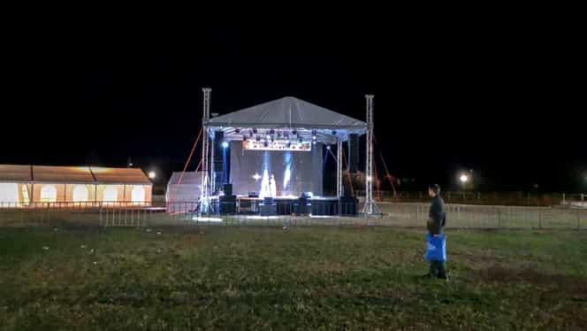 Festivalul Toamnei din Mizil, care a costat 80.000 de lei, a avut un singur spectator