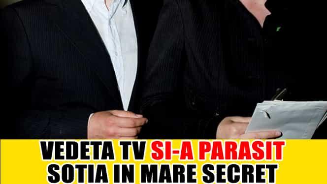 DIVORŢ SECRET! O vedetă TV şi-a părăsit soţia după 15 ani!