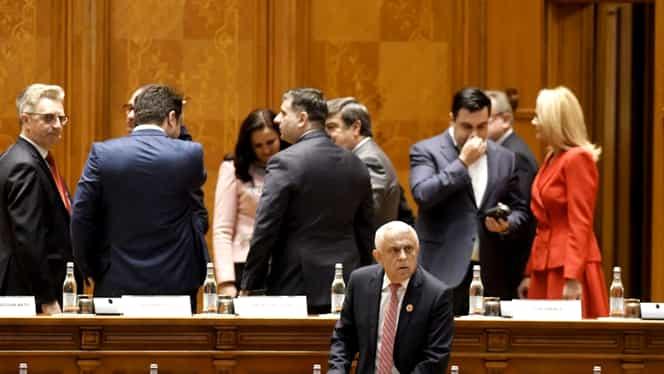 Atmosferă dezolantă la sediul PSD, chiar dacă Petre Daea a adus roșii și brânză pentru Viorica Dăncilă!