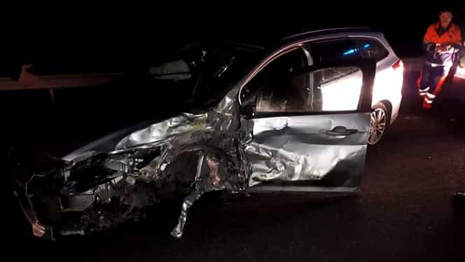 Accident grav în Caraș-Severin. Patru mașini implicate, sunt mai multe victime. A fost activat Planul Roșu