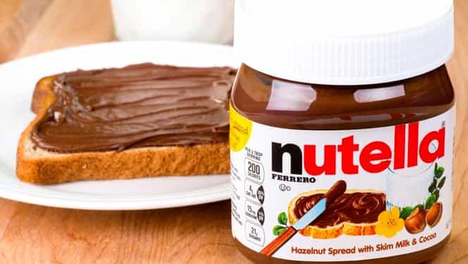 Descoperire uimitoare în capacul borcanului de Nutella