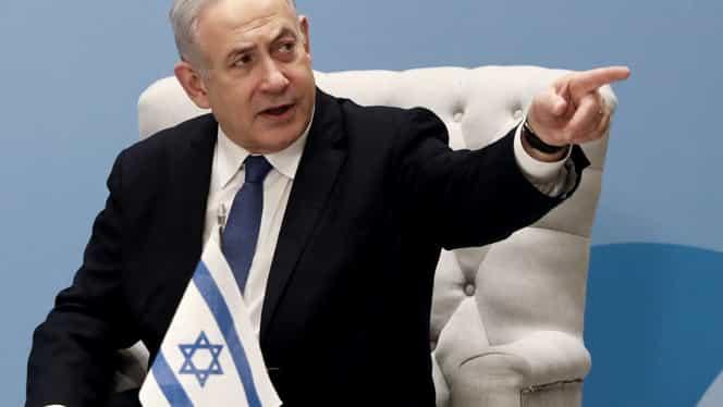 """Netanyahu ameninţă Iranul cu o rispostă """"răsunătoare"""" în cazul unui atac vizând Israelul"""