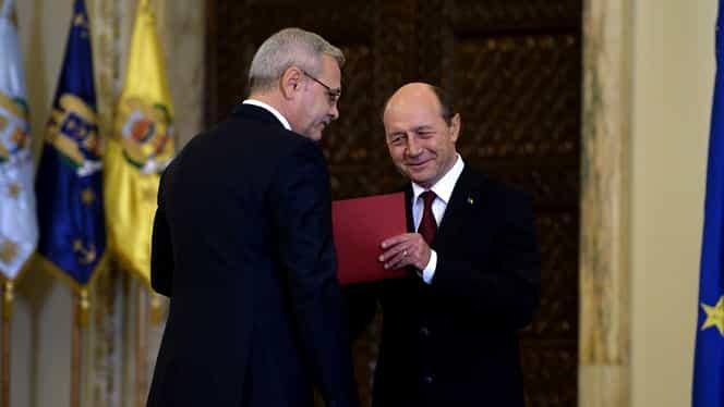 """Traian Băsescu dă rezultatul: """"Dragnea, un cadavru politic, va câștiga! Firea va pierde"""""""