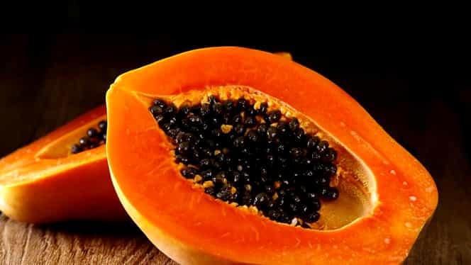 Sănătate curată dacă mănânci Papaya. Asta se întâmplă cu corpul tău după o lună de consum