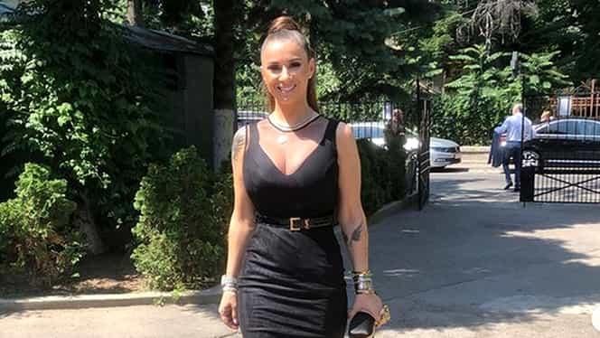 Anamaria Prodan, apariție de senzație! Cum s-a îmbrăcat soția lui Laurențiu Reghecampf la un botez la care a fost nașă