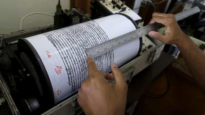 Cutremur de 3,4 grade pe Richter în Vaslui. Este al cincilea seism înregistrat astăzi în zonă