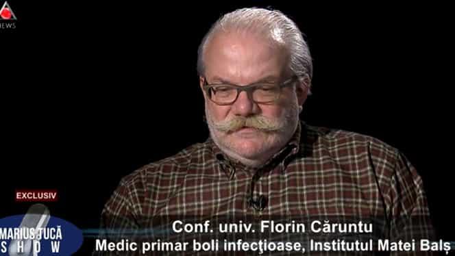 """Florin Căruntu, șef secție la Institutul Matei Balș, mesaj dur despre coronavirus! """"Oricine se poate considera o țintă"""""""