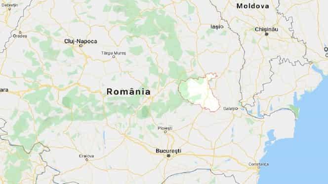Cutremur cu magnitudinea de 3,7 pe scara Richter în Vrancea, produs azi