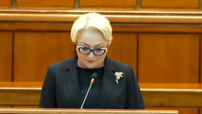 """Viorica Dăncilă, ultimul discurs ca premier, prima solicitare ca opozant! """"Președintele să respecte atribuțiile și să desemneze cât mai repede un guvern"""""""