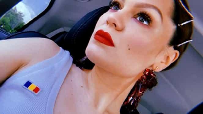 Neversea 2019. Jessie J, îmbrăcată într-o ținută creată de designeri români și cu steagul țării noastre pe piept – FOTO