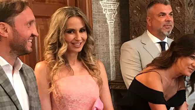 Probleme în căsnicia Crinei Abrudan cu Gabi Popescu? Fostul fotbalist, flirt în benzinărie cu o brunetă