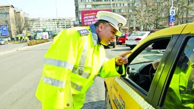Cum te fură taximetriştii la preţ! Dispozitivele pentru care Poliţia i-a amendat pe şoferii de taxi cu mii de euro