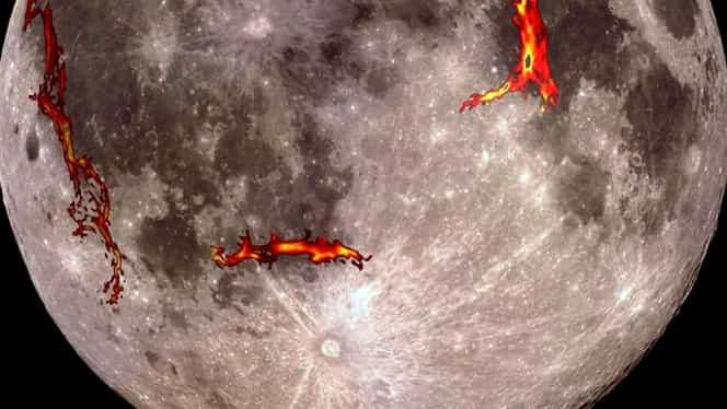 Suprafața Lunii este mai activă decât credem. Oamenii de știință sunt șocați