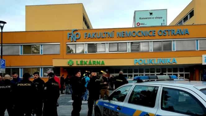 Atac armat într-un spital din Cehia. Șase persoane au murit, iar alte două au fost rănite. Atacatorul s-a sinucis