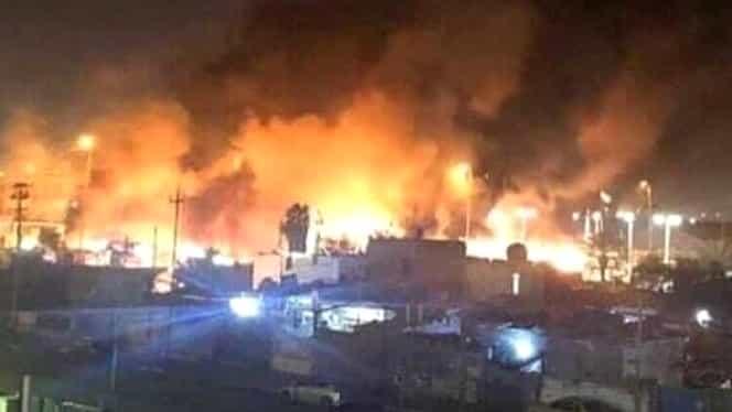 Ciocniri violente între protestatari și forțele de ordine în Irak. Autoritățile au deschis focul împotriva manifestanților. Foto