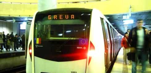 Grevă generală la metrou. Metrorex blochează circulația de miercuri în intervalul orar 04:00 – 16:00