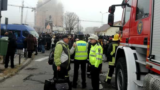 """Preotul Ciulei explică de ce și-a dat foc în fața Catedralei Neamului. """"Sunt împotriva corupției din BOR"""""""