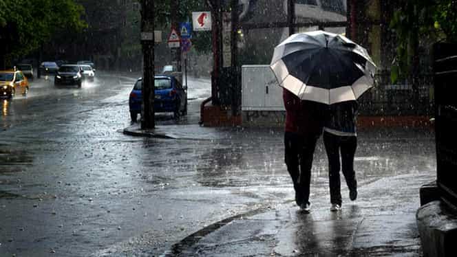 Prognoza meteo 8 octombrie. Plouă pe arii extinse