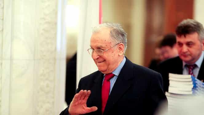 Cum arată Ion Iliescu la 90 de ani. Ultima fotografie apărută cu fostul președinte