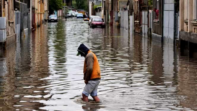 Cod galben de inundaţii! Ce zone se află sub avertizarea INHGA