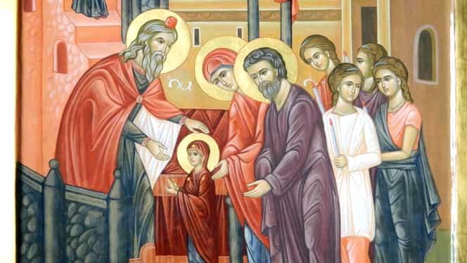 Intrarea Maicii Domnului în Biserică! Ce nu ai voie să faci în această zi! Tradiţii şi obiceiuri din străbuni!