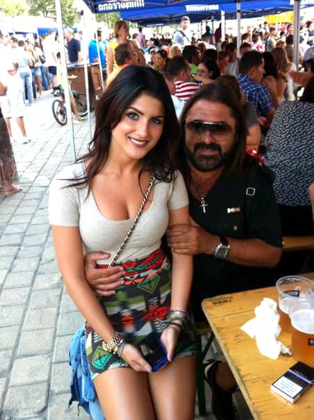 Cum arată fiica lui Gheorghe Gheorghiu acum, la 29 de ani! Imagini bombă cu Andra