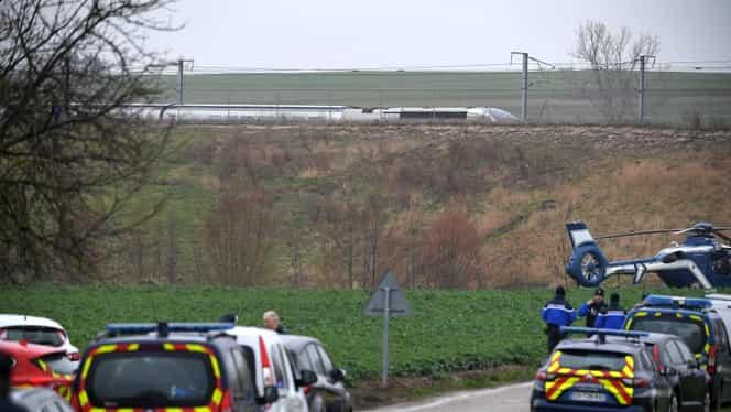 Accident înfiorător în Franța! 21 de oameni răniți după ce a deraiat locomotiva unui TGV