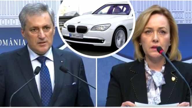 Marcel Vela o acuză pe Carmen Dan că a cumpărat BMW Seria 7 și VW Touareg pentru Liviu Dragnea din banii MAI