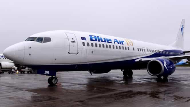 Blue Air își suspendă toate zborurile de pe 21 martie! În următoarele zile, compania va aduce în țară pasagerii români din zonele periculoase
