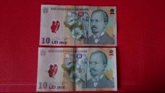 Bancnote false pe piaţa din România. Cum le deosebim