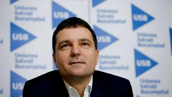 Nicușor Dan, candidatul USR București pentru primăria Capitalei! A fost ales aproape în unanimitate