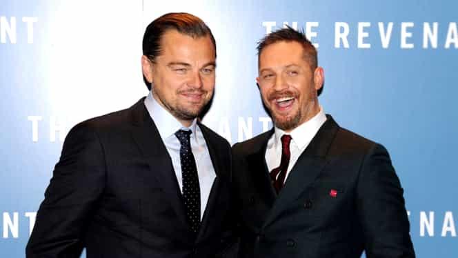 Actorul Tom Hardy şi-a tatuat numele lui Leonardo DiCaprio pe mână!