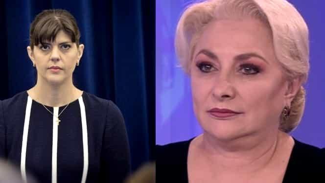 """Viorica Dăncilă, despre Laura Codruța Kovesi la procuratura europeană: """"Dacă se adeverește, ce facem noi, ca țară, ca imagine?"""""""