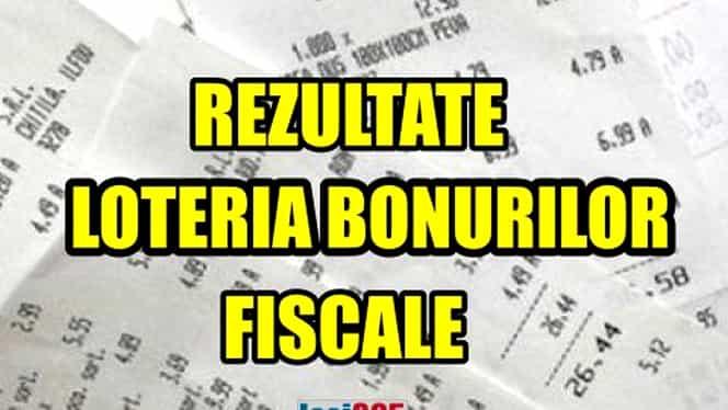Loteria bonurilor fiscale 16 decembrie 2018 LIVE. Azi e extragerea bonurilor câștigătoare pentru luna noiembrie