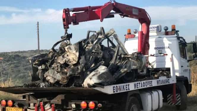 Accident grav în Grecia. Cel puțin 11 persoane arse de vii