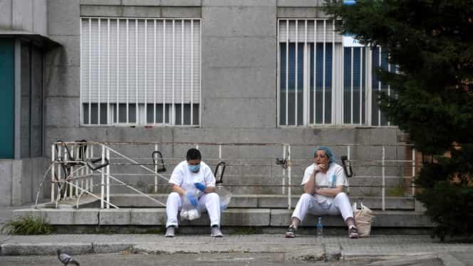 Pandemia de coronavirus face ravagii în Europa! Bolnavii sunt transferaţi dintr-o ţară în alta, iar victimele mor fără să îi vadă sau să îi audă cineva drag