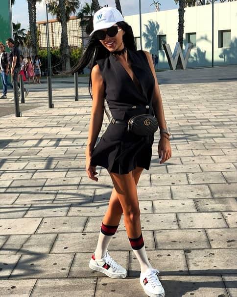 Daniela Crudu, poze din vacanță