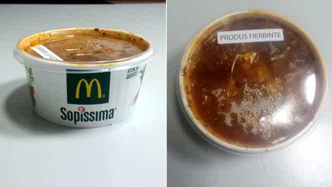 GALERIE FOTO | N-o să crezi cum arată CIORBA de la McDonald's! Ce conţine, de fapt, şi ce culoare are