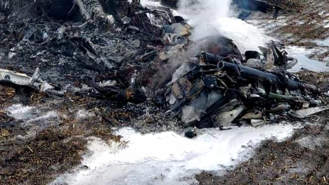 Cine era pilotul prăbușit la Baza Borcea! MApN a transmis un mesaj