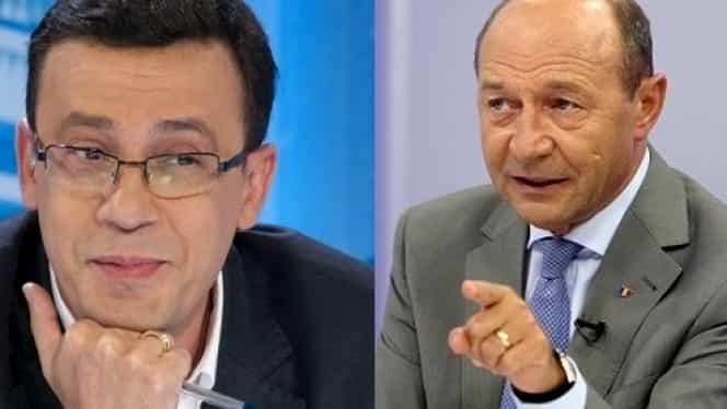 """Traian Băsescu, despre Victor Ciutacu: """"Eşti doar un tonomat rablagit"""" SCANDAL MONSTRU"""