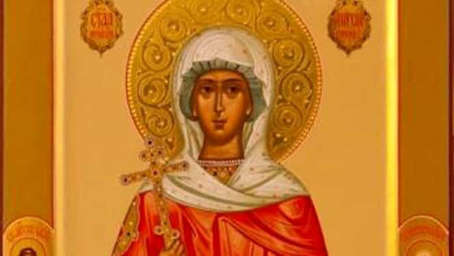 Calendar ortodox 30 decembrie. Este prăznuită Sfânta Muceniţă Anisia