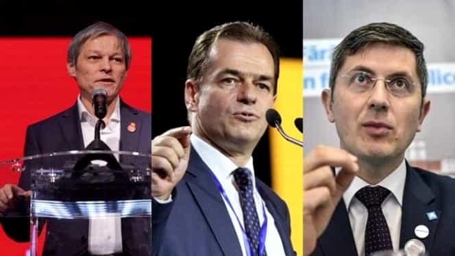 Decizie de ultim moment luată de Ludovic Orban, Dan Barna și Dacian Cioloș. Se impozitează pensiile speciale și se merge la anticipate