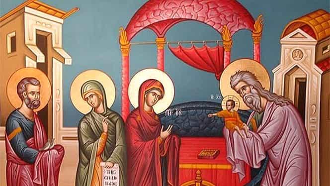 2 februarie, creştin-ortodocşii sărbătoresc Întâmpinarea Domnului