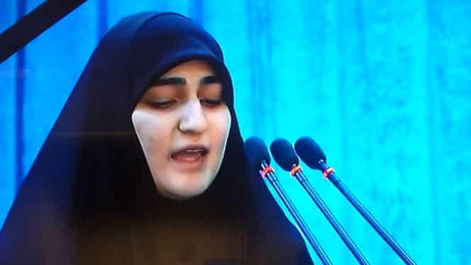 """Fiica generalului Soleimani îl ameninţă pe Donald Trump: """"Nebunule, să nu crezi că totul s-a terminat"""""""