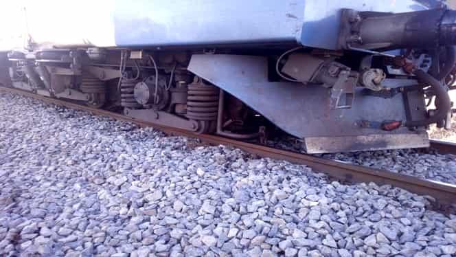 Un tren de călători a deraiat la Sibiu, între localitățile Săliște și Apoldu de Sus