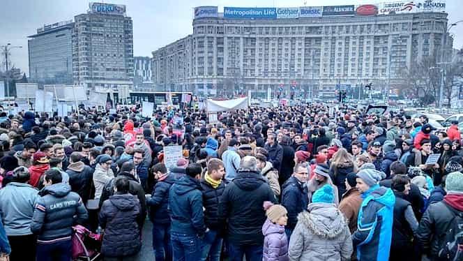 Miting de amploare la Bucureşti. Mii de protestatari şi-au anunţat prezenţa!